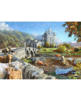 Puzzle The House of Puzzles - Highland Morning, 1.000 piese (56601)