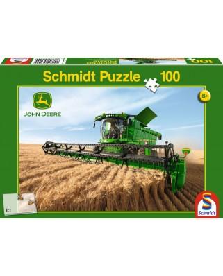 Puzzle Schmidt - Combine Harvester S690, 100 piese (56144)