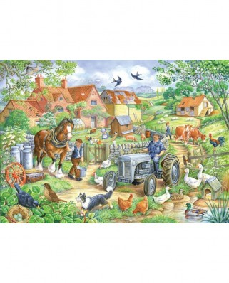 Puzzle The House of Puzzles - Keeping Busy, 250 piese XXL (56912)