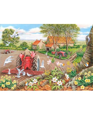 Puzzle The House of Puzzles - Red Harrows, 500 piese XXL (56772)