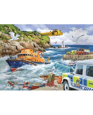 Puzzle The House of Puzzles - Rescue, 1.000 piese (56676)