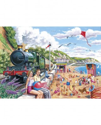 Puzzle The House of Puzzles - Seaside Special, 250 piese XXL (56910)