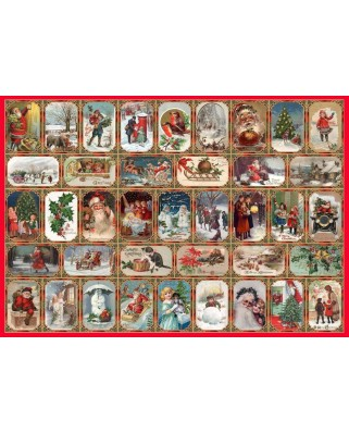Puzzle The House of Puzzles - Seasons Greetings, 1.000 piese (56570)