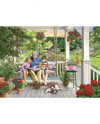 Puzzle The House of Puzzles - Storytime, 500 piese XXL (65284)