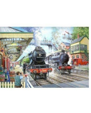 Puzzle The House of Puzzles - Train Now Standing, 1.000 piese (56738)