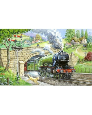 Puzzle The House of Puzzles - Train Spotting, 250 piese XXL (56923)