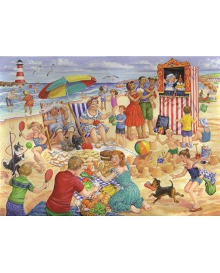 Puzzle The House of Puzzles - Trip To The Seaside, 250 piese XXL (56900)