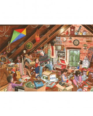 Puzzle The House of Puzzles - What's That Grandpa, 1.000 piese (60657)