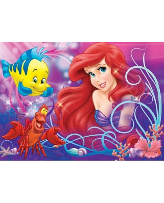 Puzzle Nathan - Ariel, pretty little Mermaid, 60 piese (43514)