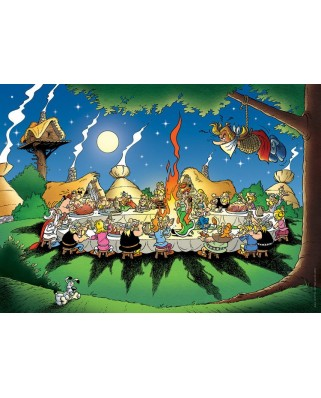 Puzzle Nathan - Asterix and Obelix : The Banquet, 1.500 piese (11092)