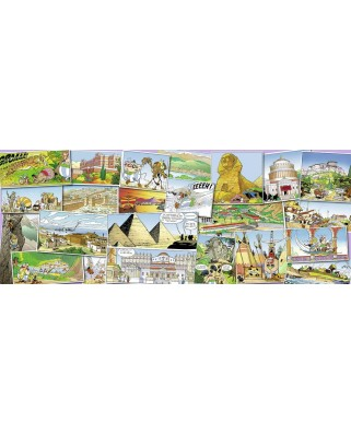 Puzzle Nathan - Asterix and Obelix, 1.000 piese (57468)