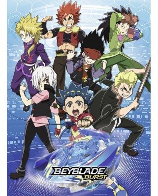 Puzzle Nathan - Beyblade Burst, 150 piese (62510)