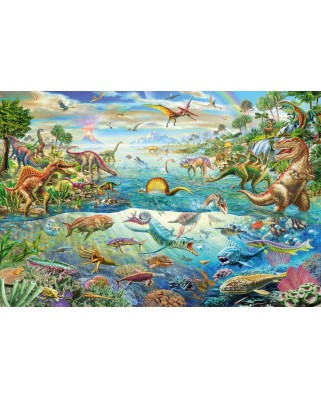 Puzzle Schmidt - Discover the Dinosaurs, 200 piese (56253)