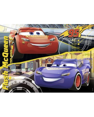 Puzzle Nathan - Cars 3 - Flash Mcqueen, 45 piese (62489)