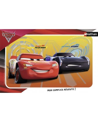 Puzzle Nathan - Cars 3, 15 piese (62459)