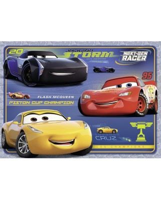 Puzzle Nathan - Cars 3, 45 piese (62487)