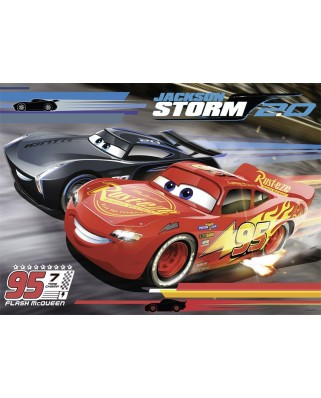 Puzzle Nathan - Cars 3, 60 piese (62496)