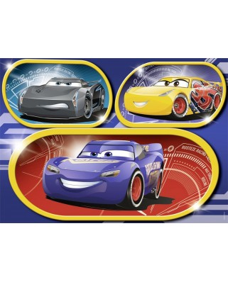 Puzzle Nathan - Cars 3, 60 piese (62498)