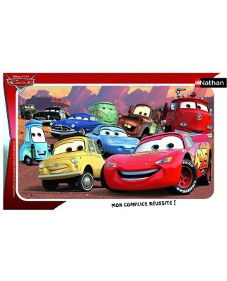 Puzzle Nathan - Cars, 15 piese (49804)