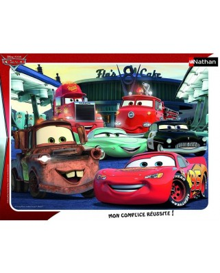 Puzzle Nathan - Cars, 35 piese (49807)
