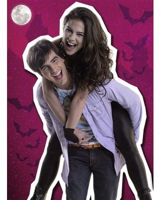 Puzzle Nathan - Chica Vampiro: Daisy & Max, 150 piese (54127)