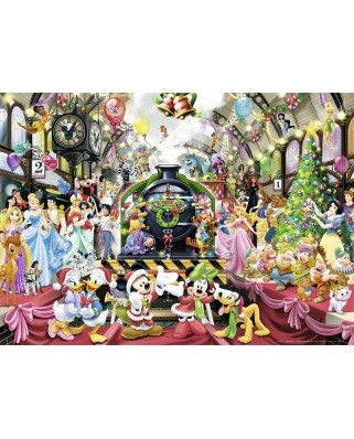Puzzle Nathan - Christmas Magic with Disney, 1.000 piese (62538)