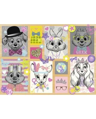 Puzzle Nathan - Disney Fashion, 500 piese (62532)