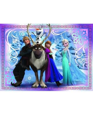 Puzzle Nathan - Disney Frozen, 45 piese (48027)