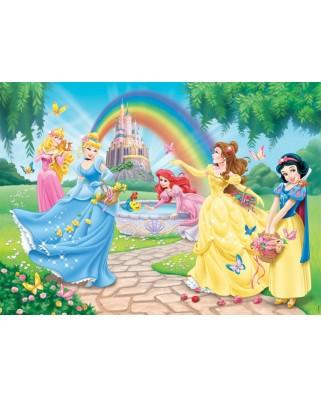 Puzzle Nathan - Disney Princess : The Princesses' Garden, 100 piese (10937)