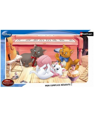 Puzzle Nathan - Disney: The Aristochats, 15 piese (12668)