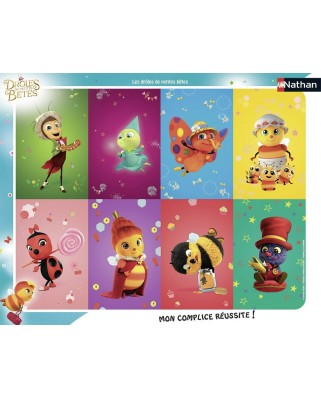 Puzzle Nathan - Droles de Petites Betes, 35 piese (62463)
