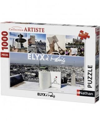 Puzzle Nathan - Elyx a Paris, by Yak, 1.000 piese (57467)