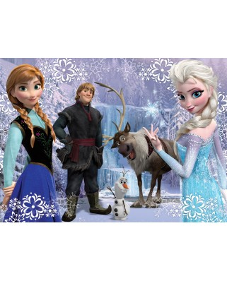 Puzzle Nathan - Frozen, 100 piese (43517)