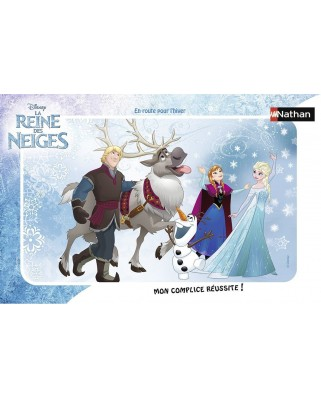 Puzzle Nathan - Frozen, 15 piese (52633)
