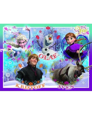 Puzzle Nathan - Frozen, 60 piese (48024)