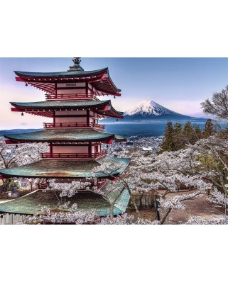 Puzzle Nathan - Japan, 500 piese (62522)