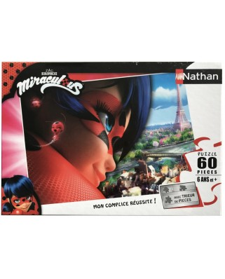 Puzzle Nathan - Lady Bug, 60 piese (55753)