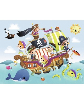 Puzzle Nathan - Little Pirates, 30 piese (55375)