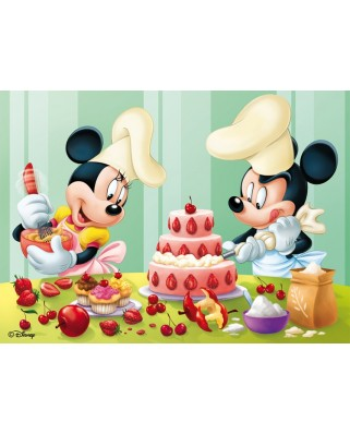 Puzzle Nathan - Mickey : Baking Day, 45 piese (5231)