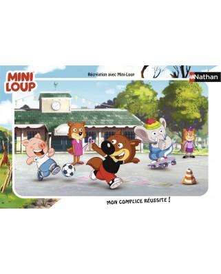 Puzzle Nathan - Mini-Loup, 15 piese (62466)