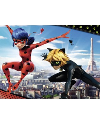 Puzzle Nathan - Miraculous - Lady Bug, 150 piese (57453)