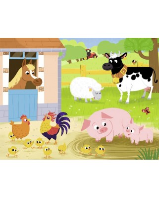 Puzzle Nathan - My Friends from the Farm, 30 piese (62481)