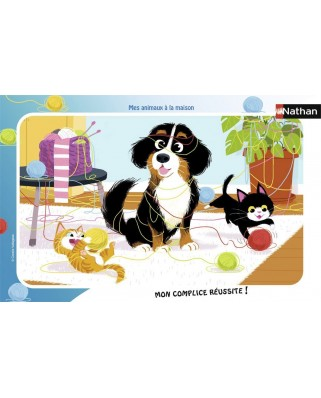 Puzzle Nathan - My Pets at Home, 15 piese (62464)