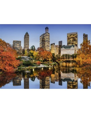 Puzzle Nathan - New York in Autumn, 1500 piese (62555)