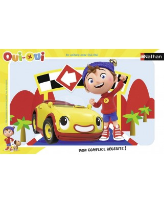Puzzle Nathan - Oui-Oui, 15 piese (52631)