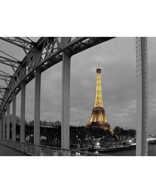 Puzzle Nathan - Paris by Night, 1.000 piese (55350)
