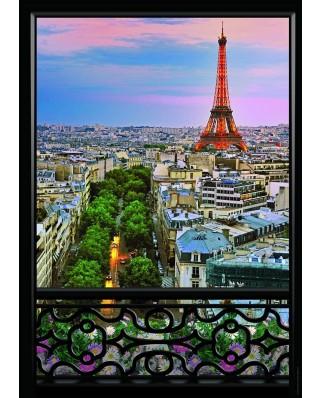 Puzzle Nathan - Paris view, 1.000 piese (43488)