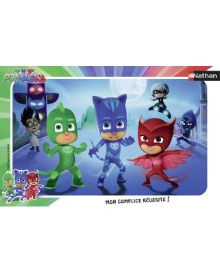 Puzzle Nathan - PJ Masks, 15 piese (62460)