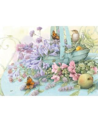 Puzzle Schmidt - Marjolein Bastin: Flower Basket, 1.000 piese (59572)