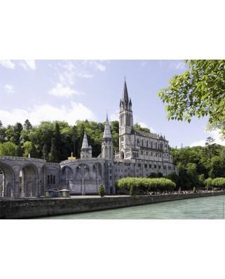 Puzzle Nathan - Sanctuary Lourdes, France, 1.500 piese (62554)